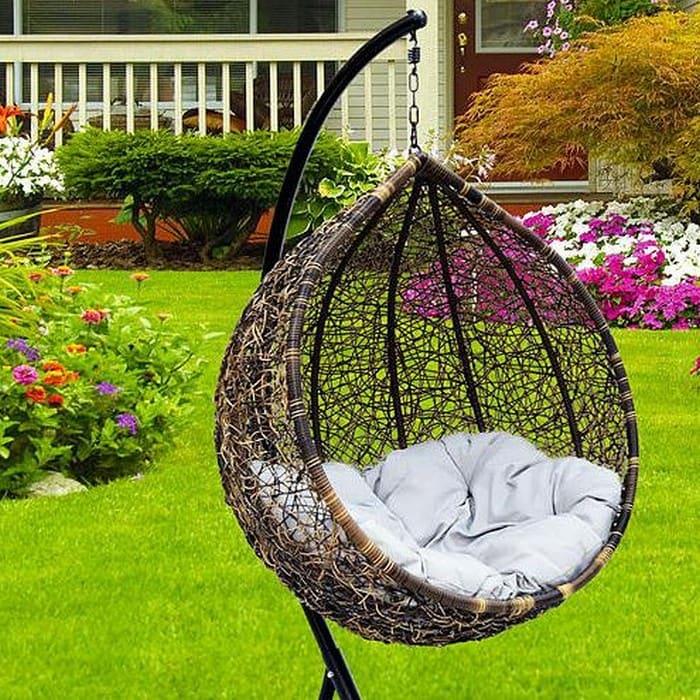 Кресло-качалка для двоих на балкон или дачу