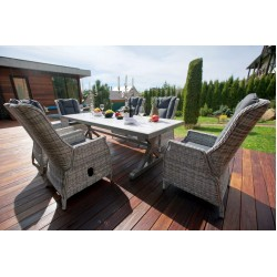 Комплект садовой мебели из ротанга Верона 250 (6+1)