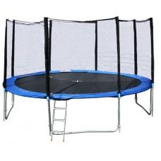 Батут dfc trampoline fitness с сеткой (10ft-tr-e)