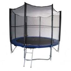 Батут dfc trampoline fitness с сеткой 12ft-tr-e