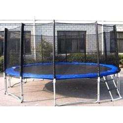 Батут dfc trampoline fitness с сеткой 15ft-tr-e