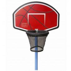 Баскетбольный щит для батута, мяч, насос