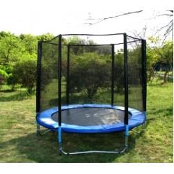 Батут dfc trampoline fitness с сеткой (6ft-tr-e)