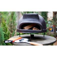 Дровяная печь для пиццы ТОСКАНА  - 52 см черный