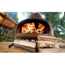Дровяная печь для пиццы ТОСКАНА 68 см темно-коричневый