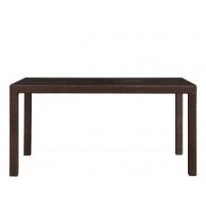 Обеденный стол 150х90 YALTA для кафе из искусственного ротанга