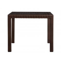 Стол для кафе YALTA 90х90 из искусственного ротанга