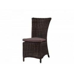 Плетеный стул обеденный садовый LEON