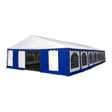 Шатер павильон 8х15 м  Белый, синий
