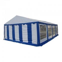Шатер павильон 6x8 м  Белый, синий