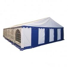 Шатер павильон 8х12 м Белый, синий
