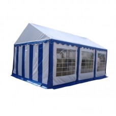 Шатер павильон 4x6 м  Синий, белый