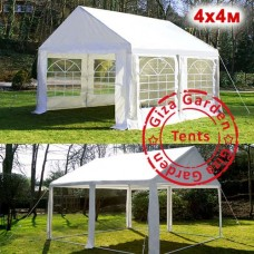 Тент шатер павильон 4x4м белый