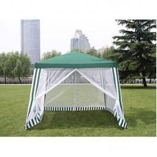 Садовый тент шатер с москитной сеткой (Green Glade 1036) 3х3м