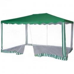 Садовый тент шатер с москитной сеткой (Green Glade 1088) 3х4м
