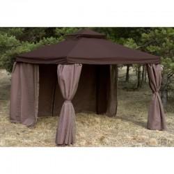 Тент шатер Ronda 3x4 м коричневый