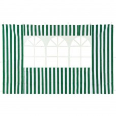Cтенка Green Glade с окном (зеленая) 4110 2х3м