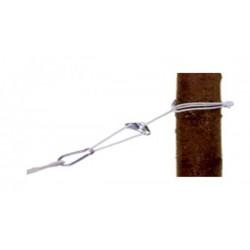 Прочный нейлоновый канат, с матал. петлей и карабином Startrope