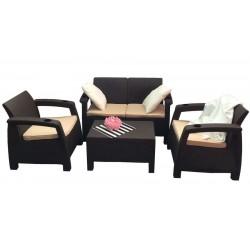 Комплект уличной пластиковой мебели Yalta Terrace Set