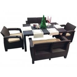 Набор пластиковой мебели Yalta Family Set