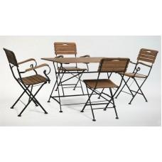 Комплект мебели стол прямоугольный и 4 стула