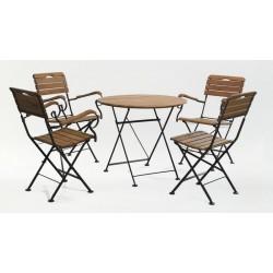 Комплект мебели стол круглый и 4 стула