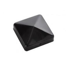 Крышка для столба черная