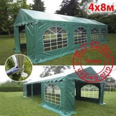 Шатер павильон 4х8м зеленый