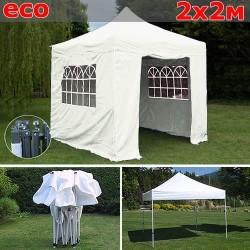 Быстросборный шатер со стенками 2х2м белый