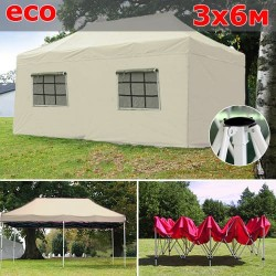 Быстросборный шатер со стенками 3х6м бежевый