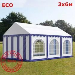 Шатер Giza Garden 3x6м бело-синий