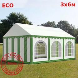 Шатер Giza Garden 3x6м бело-зеленый