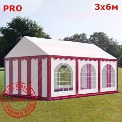 Шатер Giza Garden 3x6м белыо-красный