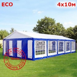 Шатер Giza Garden 4x10м бело-синий