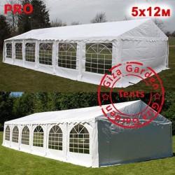 Шатер Giza Garden 5x12м белый PRO