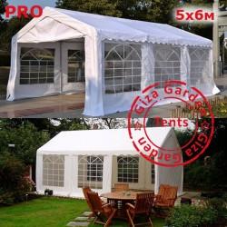 Шатер Giza Garden 5x6м белый PRO