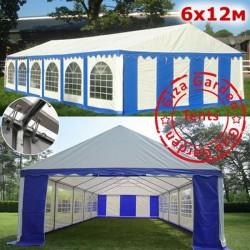 Шатер Giza Garden 6x12м сине-белый