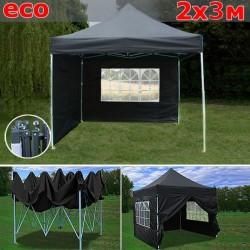 Быстросборный шатер 2х3м черный
