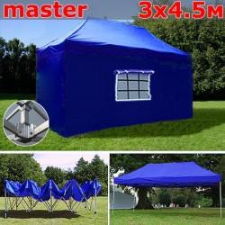 Шатер автомат 3x4,5м Master синий