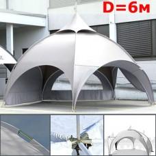 Dome шатер со стенками 6 м, белый