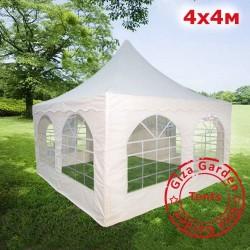 Шатер пагода 4х4м , белый