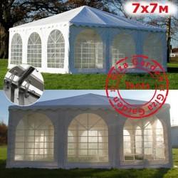 Шатер Пагода Giza Garden 7x7м белый
