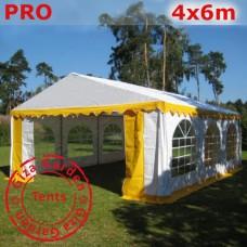 Шатер 4х6  Pro желтый