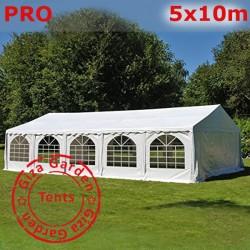 Шатер павильон 5х10 giza garden Pro белый