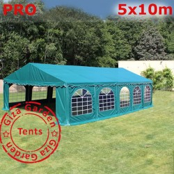Шатер павильон  5х10  Pro зеленый