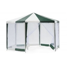 Садовый тент шатер с москитной сеткой (Green Glade 1001) 2х2х2м