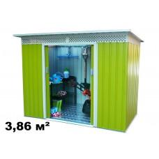 Металлический Хозблок Бэлла C (3,86 кв.м.)