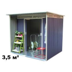 Металлический Хозблок Даррен A (3.5 кв.м)
