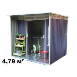 Металлический хозблок Даррен B (4.79 кв.м)