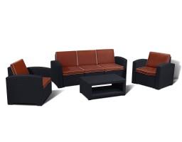 Комплект мебели из искусственного ротанга  IDEA LUX 5